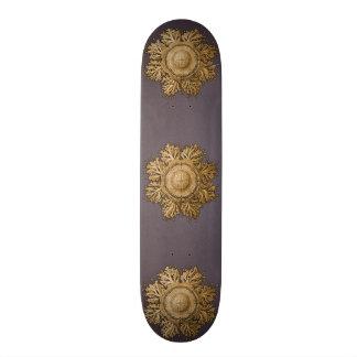 Toreuma Bellagemma Gold & Grey Skateboard Deck
