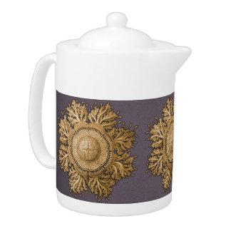 Toreuma Bellagemma Gold & Grey Teapot