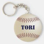 Tori Baseball Keychain by 369MyName