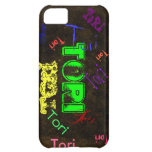 Tori Case iPhone 5 Name Case - Distressed Leather iPhone 5C Cover