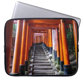Torii at the Inari Shrine, Kyoto Laptop Computer Sleeve