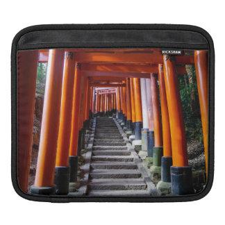 Torii at the Inari Shrine, Kyoto Sleeve For iPads