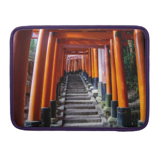 Torii at the Inari Shrine - Macbook Pro Sleeve