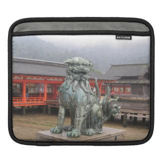 Torii Gate, Miyajima Japan iPad Sleeve