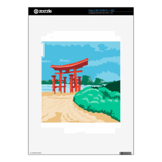 Torii Japanese Gate WPA Skins For The iPad 2