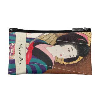 Torii Kotondo Twelve Aspects of Women Rain Cosmetic Bags
