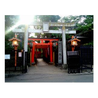 Toriis of Ueno Park Postcard