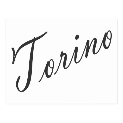 Torino Products! Postcards