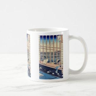 Torinomachi Festival by Ando,Hiroshige Coffee Mug
