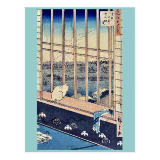 Torinomachi Festival by Ando,Hiroshige Postcard