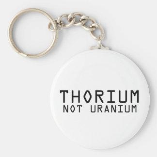 Torio no de uranio llavero personalizado