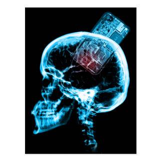 Torment Studios Skull Postcard