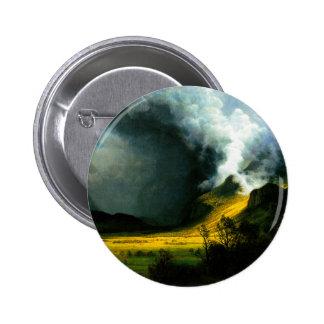 Tormenta de Albert Bierstadt en el botón de las mo