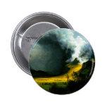 Tormenta de Albert Bierstadt en el botón de las mo Pin