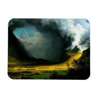 Tormenta de Albert Bierstadt en el imán de las mon