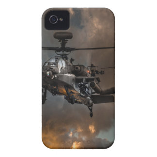 Tormenta de Apache Case-Mate iPhone 4 Protectores