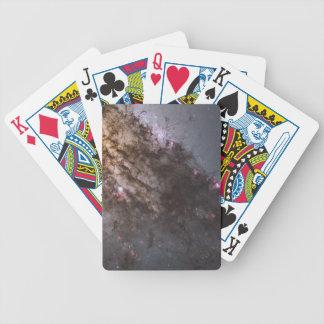 Tormenta de fuego del nacimiento de la estrella en baraja cartas de poker