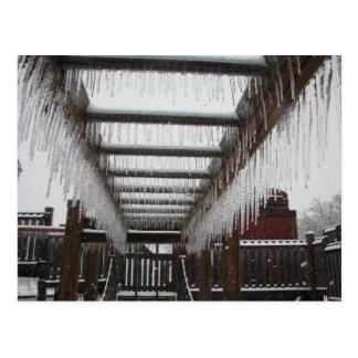 ¡Tormenta de hielo de Oklahoma 2010! Postales