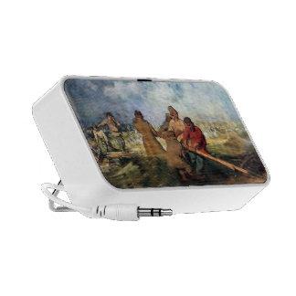 Tormenta de Ilya Repin- en el Volga Mp3 Altavoz