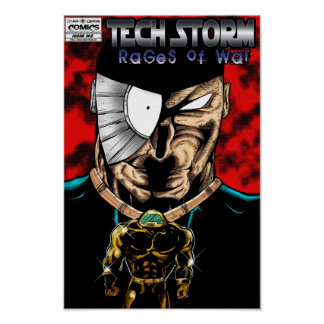 TORMENTA DE LA TECNOLOGÍA: Rabias de la guerra #2  Impresiones