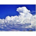 Tormenta de las nubes esculturas fotograficas