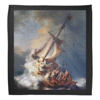 Tormenta de Rembrandts en el mar de Galilea Bandana