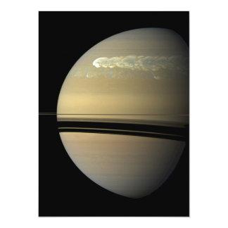 """Tormenta de Saturn Invitación 5.5"""" X 7.5"""""""