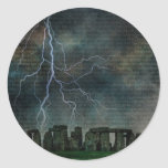 Tormenta de Stonehenge Etiqueta