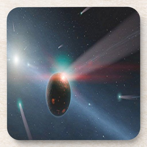 Tormenta del cometa posavaso