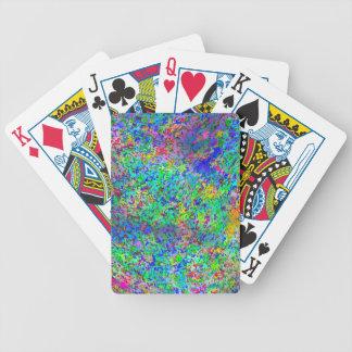 Tormenta del confeti baraja cartas de poker