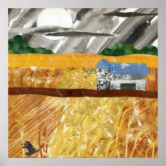 Tormenta del granero poster