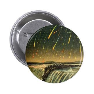 Tormenta del meteorito de Leonid que pinta a parti