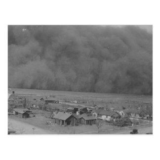 Tormenta del polvo en Approching Rolla Kansas en 1 Tarjeta Postal