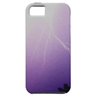 Tormenta del relámpago iPhone 5 protector