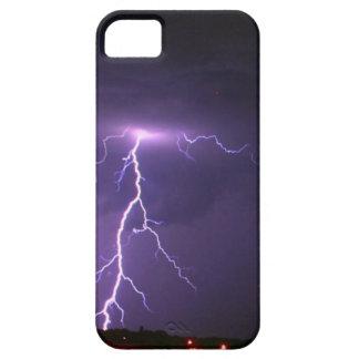 Tormenta del relámpago iPhone 5 funda