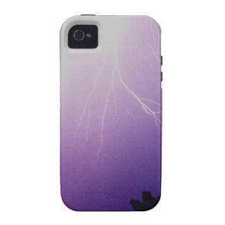Tormenta del relámpago iPhone 4 carcasa