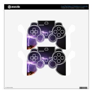 Tormenta del relámpago mando PS3 skins