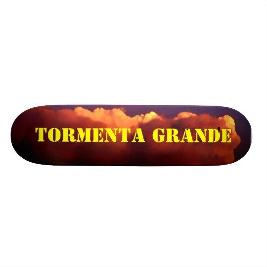 Tormenta Grande' - Custom Skateboard Deck
