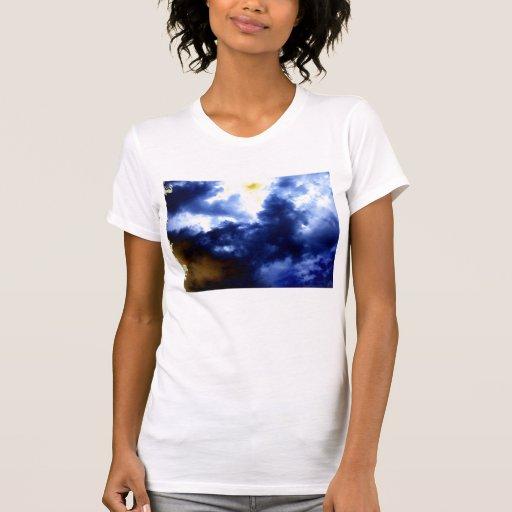 Tormenta malvada de Blue&Brown por KLM Camiseta