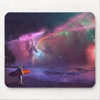 Tormenta Mousepad del astronauta de la nebulosa