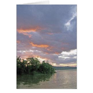 Tormenta posible hoy en el valle del río Ohio Tarjeta De Felicitación