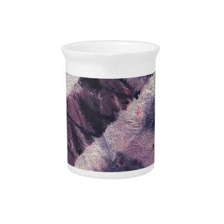 Tormenta púrpura jarron