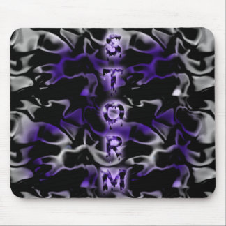 Tormenta púrpura Mousepad