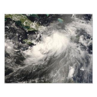 Tormenta tropical Gustavo en el mar del Caribe Fotografía