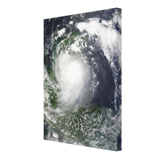 Tormenta tropical Karl sobre la península del Lona Estirada Galerias