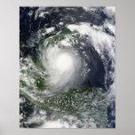 Tormenta tropical Karl sobre la península del Póster