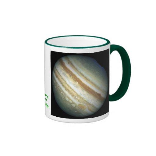 Tormentas de Júpiter Taza A Dos Colores