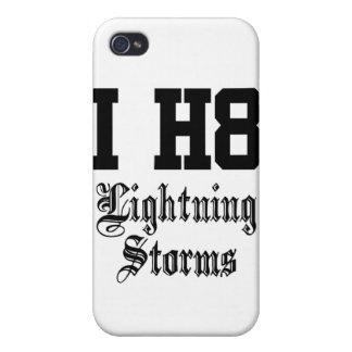 tormentas del relámpago iPhone 4 coberturas