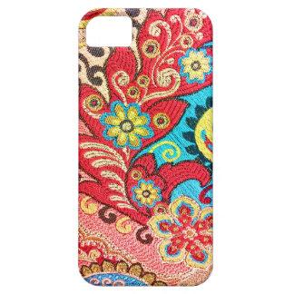 Tormento de la materia textil iPhone 5 Case-Mate protector