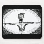 Torn and Stretched Morbid Mouse Pad